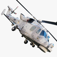 aw159 wildcat 3d model