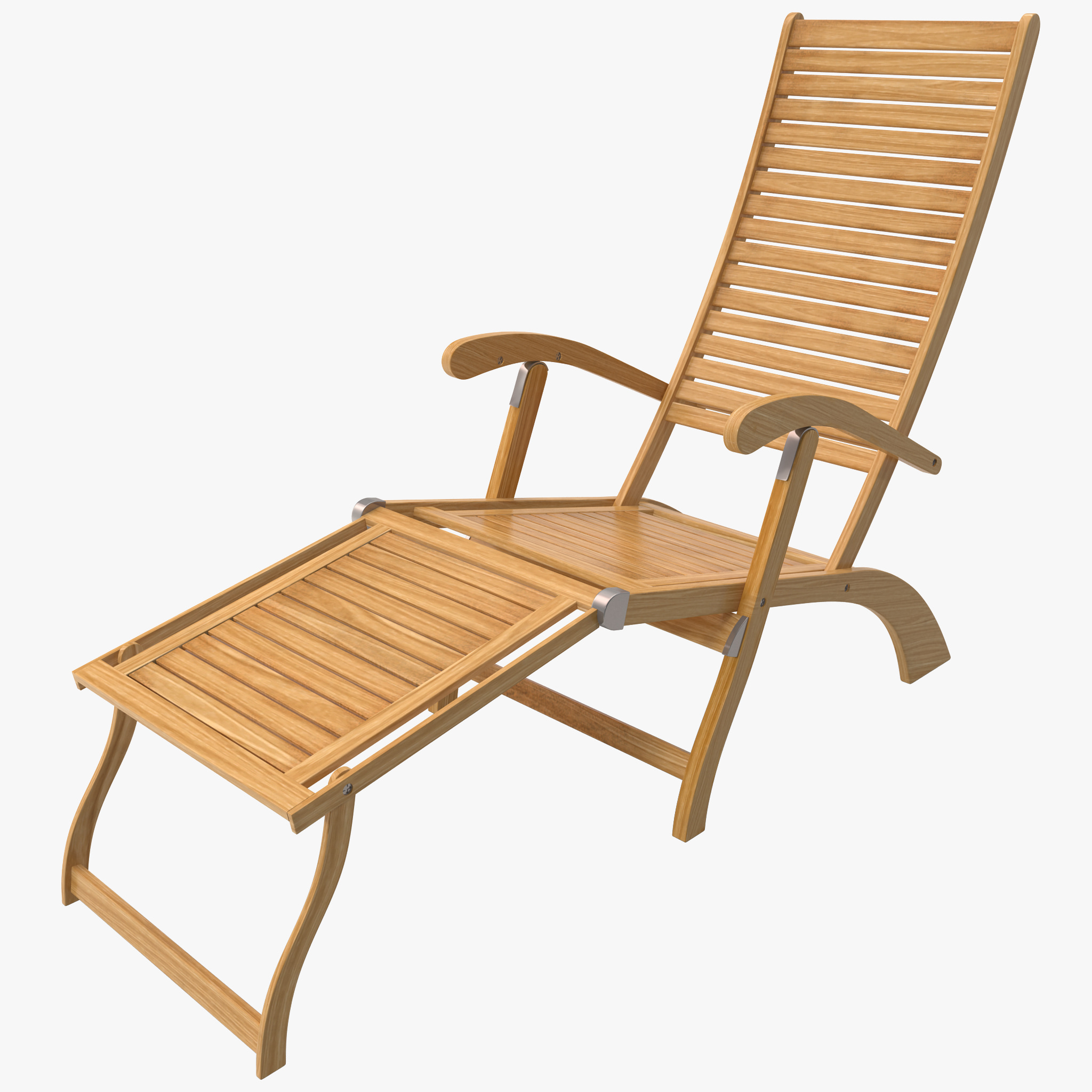 Chaise lounge beach chair 3d c4d for Chaise lounge beach