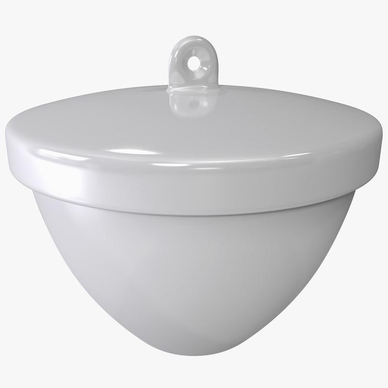 3d model crucible lid