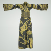 cloth japanese kimono 3d obj