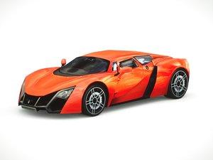 3d marussia b2 2013 model