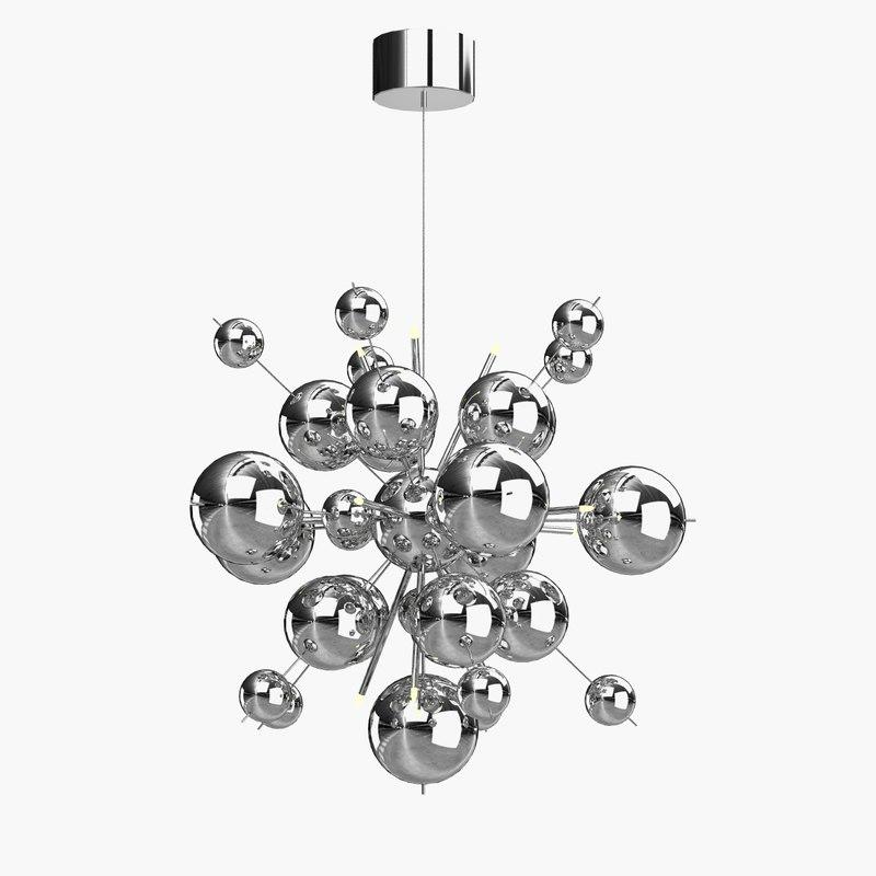 lamp molecule artelamp 3d model
