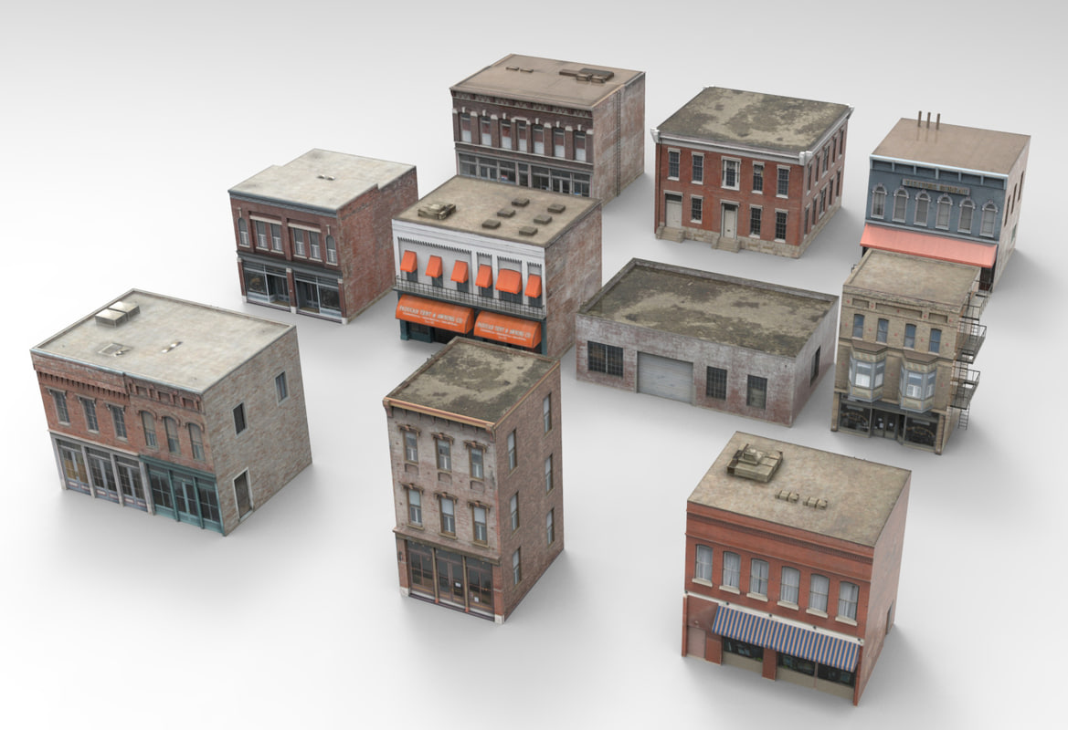 3d model ny buildings