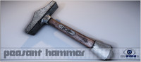 hammer cryengine 3d model