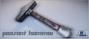 hammer cryengine 3d model