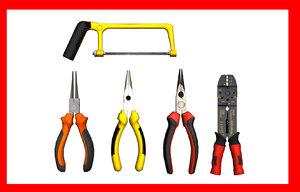 3d model tweezers handsaw