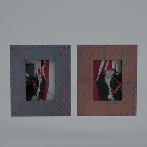 free richmond foto frame 3d model