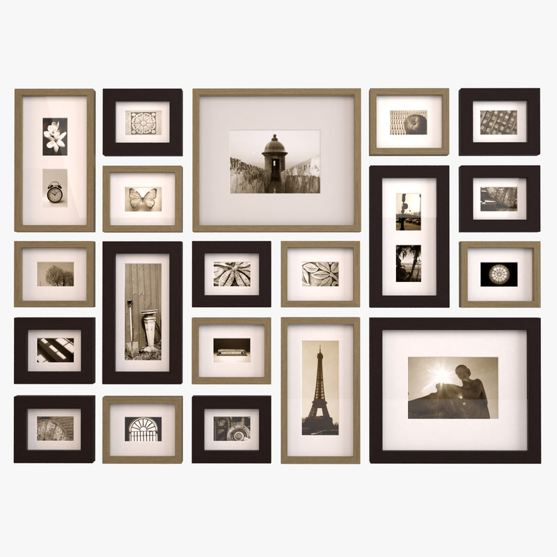 Wall Picture Frames 28+ [ picture frame on wall ] | project home frame wall,how to