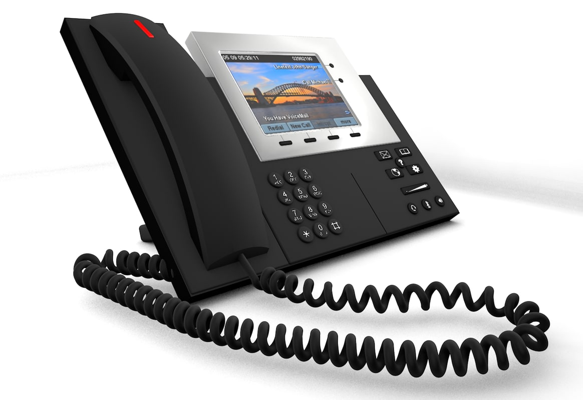 3d cisco ip phone