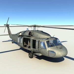 3dsmax uh-60 blackhawk uh 60