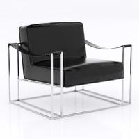3d max armchair chair modern