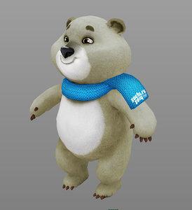 mascot winter olympics bear ma