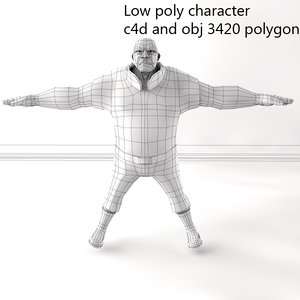 obj character man