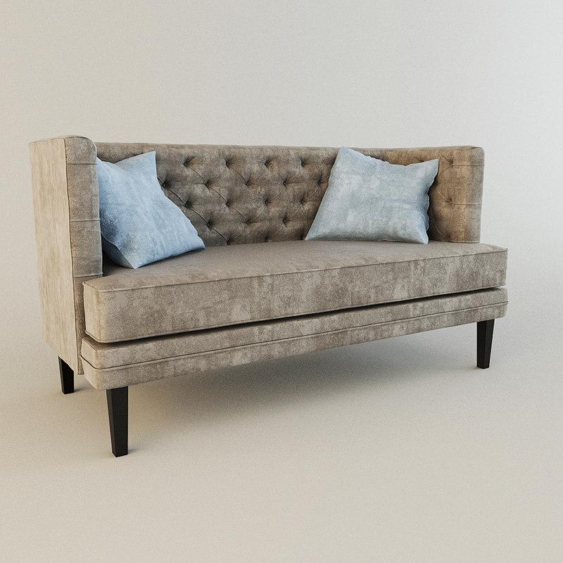 3d model of sofa annan