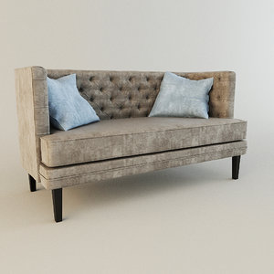 3d model of sofa annan