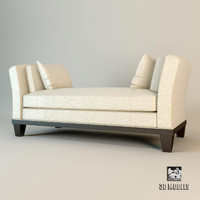 3ds max meridiani sofa