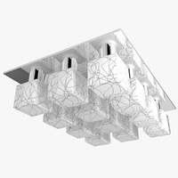 3d architectural light model