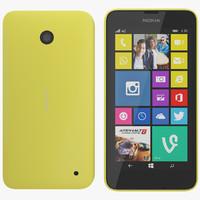 Nokia 630 yellow