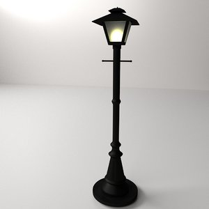 light post 3d model