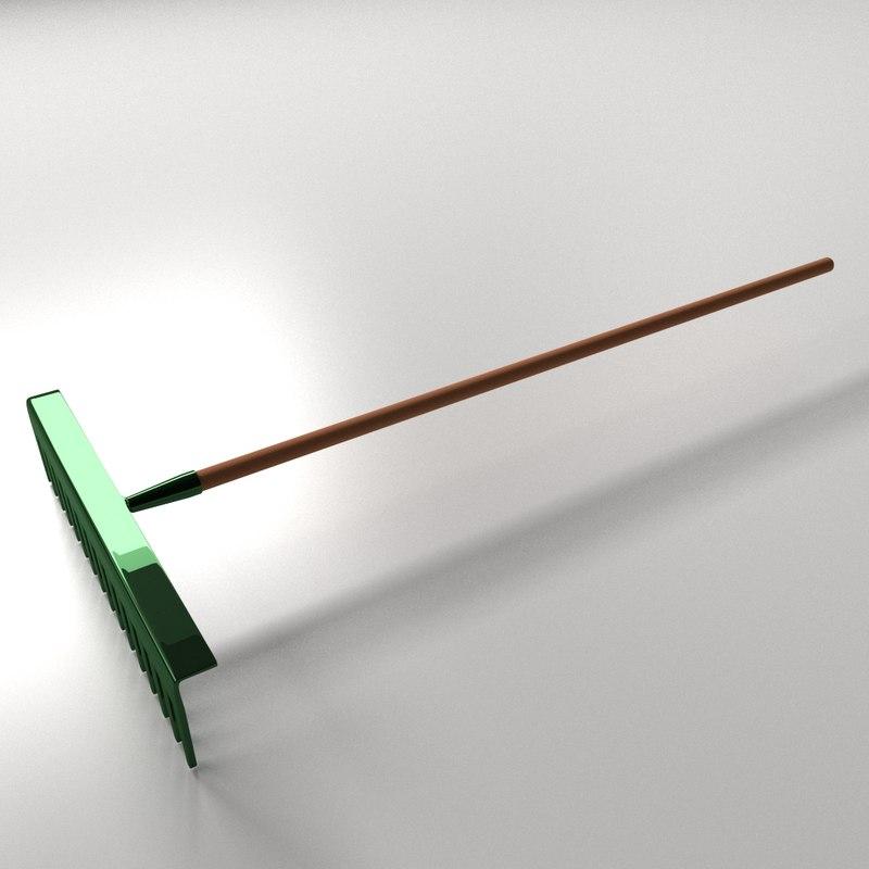 3d landscape rake