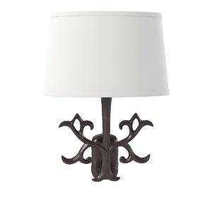 3d polka wall lamp