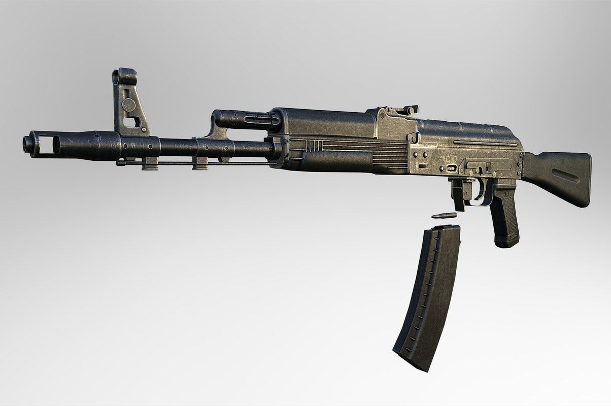 kalashnikov assault rifle max