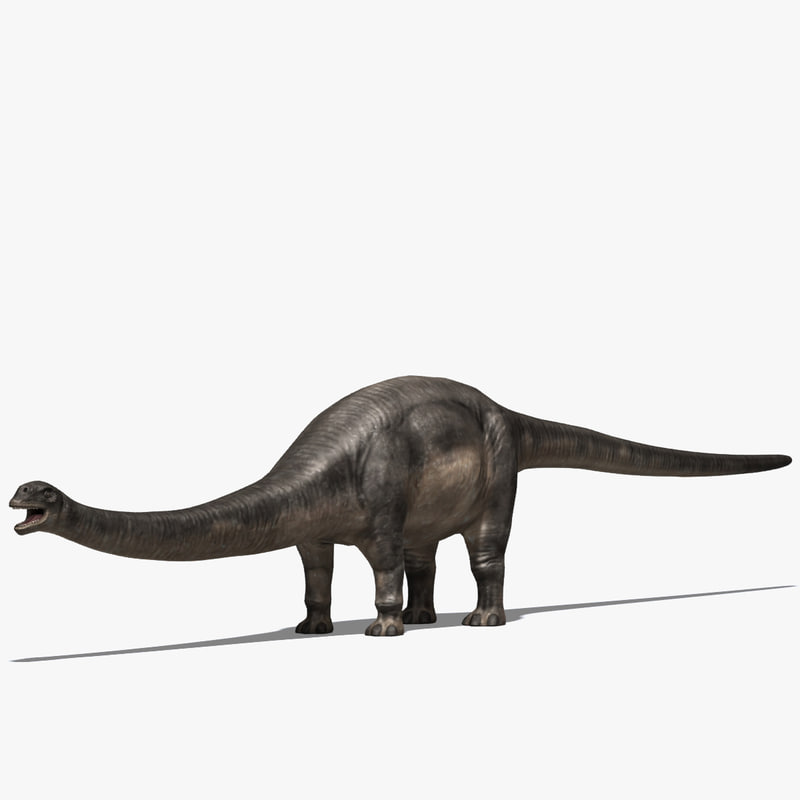 sauropods dinosaur 3d max