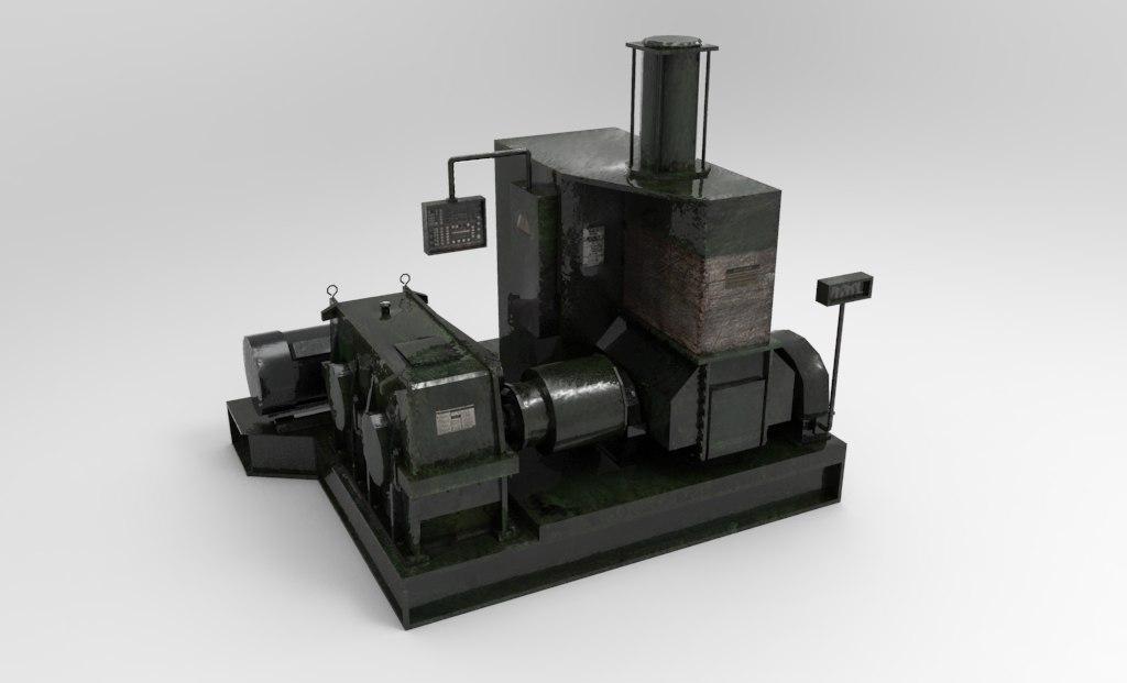 3d model industrial mixing machine