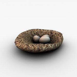 3ds max nest eggs