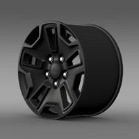 jeep wrangler willys wheeler 3d lw