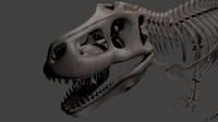 3d tyranosaurus rex model