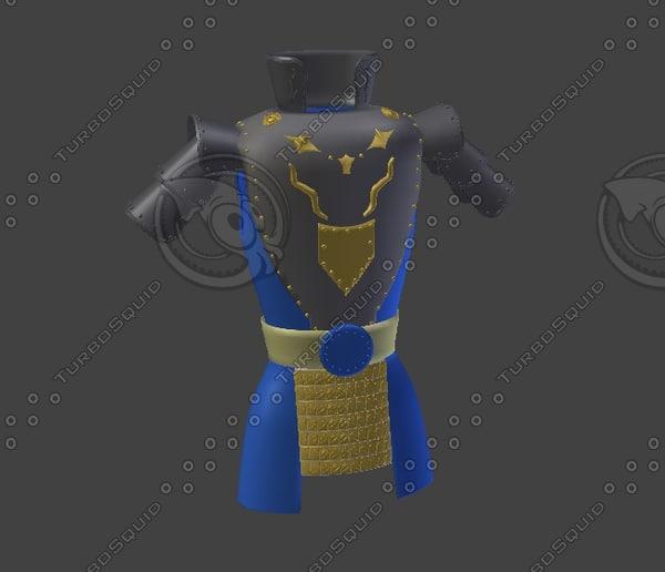obj ancient armor