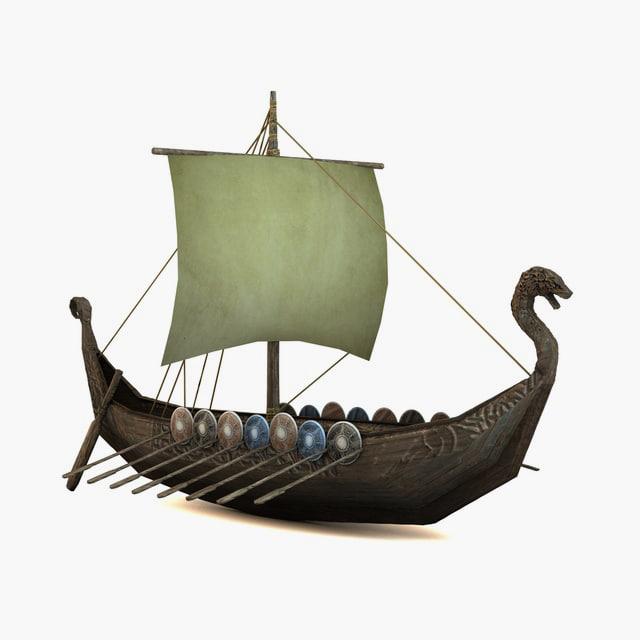 c4d ship viking