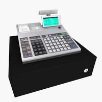 3ds max cash register