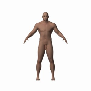 maya male human character