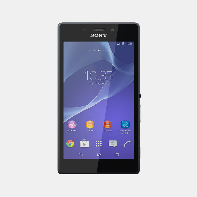 3d sony xperia m2