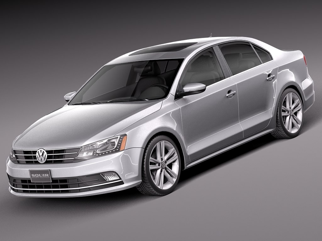 3d model 2015 volkswagen jetta. Black Bedroom Furniture Sets. Home Design Ideas