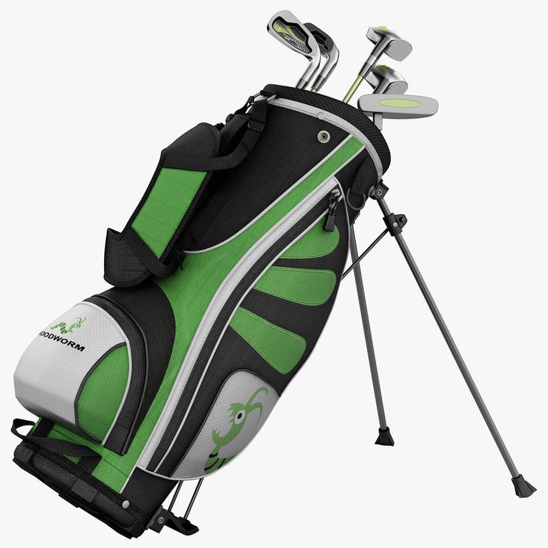 max woodworm golf set
