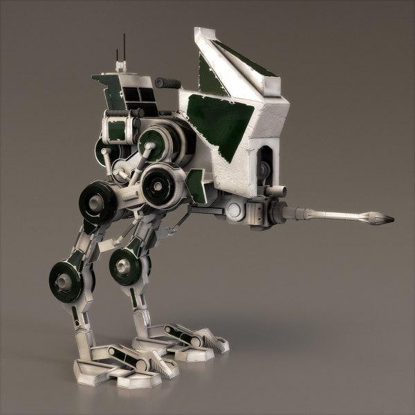 star wars atrt walker 3d model