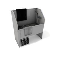 dog bath 3d model
