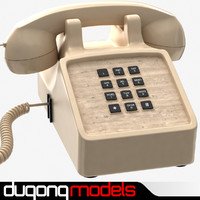 Traditional Corded Phone