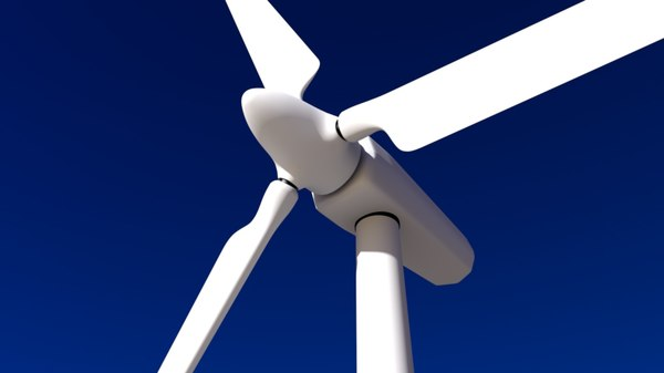 wind generator 3d c4d