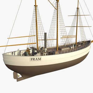 fram ship 3d max