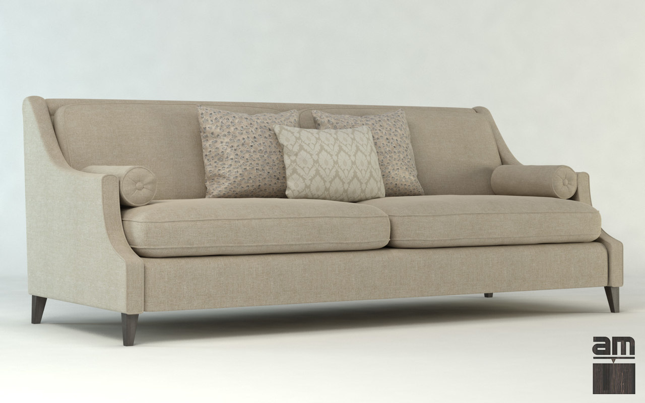 sofa upholstery furniture 3d obj