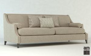 sofa upholstery furniture 3d obj