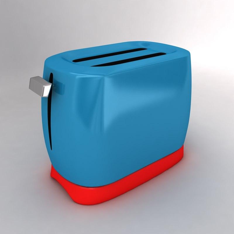 bread toaster 3d x