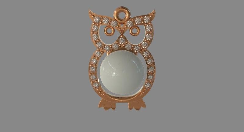 3d stl gems pearl