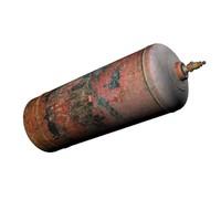 3d gas tank propane model