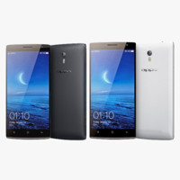 Oppo Find 7 And 7a White & Black