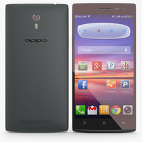 Oppo Find 7 - 7a Black